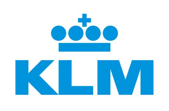 Logo for the Dutch airline KLM