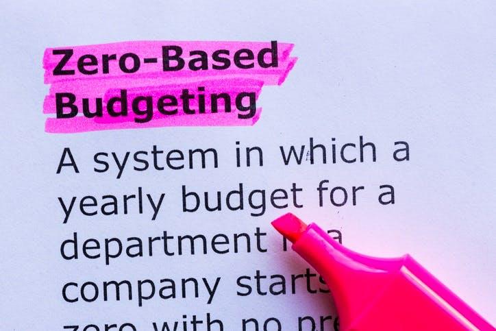 zero based budgeting