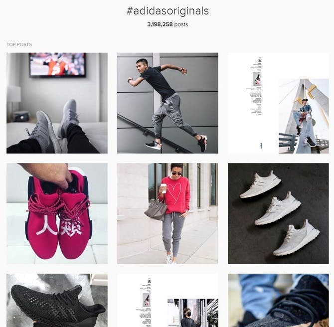1789ae4bf5e How Adidas Originals uses social media to drive sales – Econsultancy