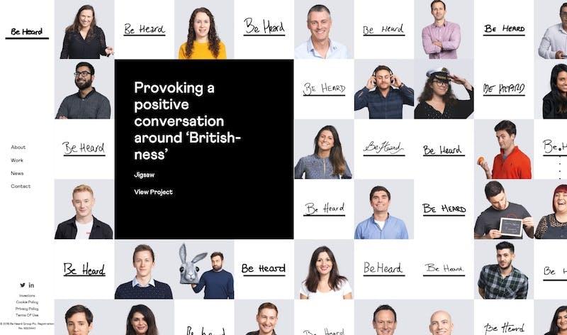 be-heard-homepage
