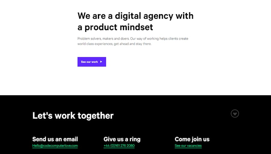 10 of the best digital agency websites – Econsultancy