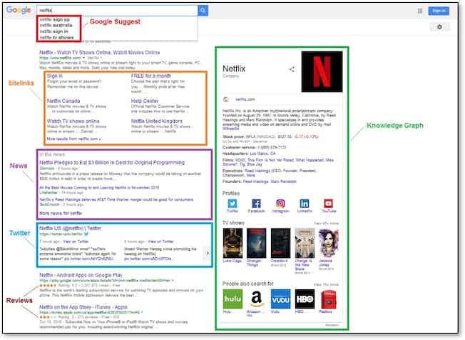 netflix search on google