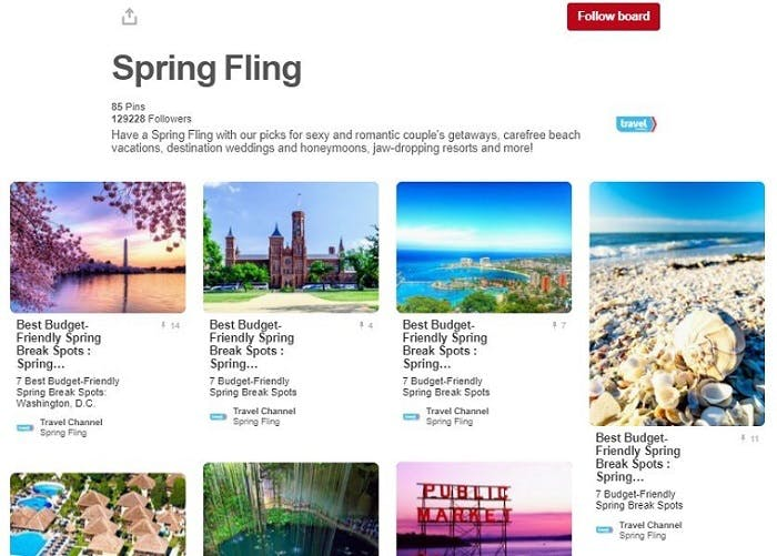 Six consumer brands with picture-perfect Pinterest strategies