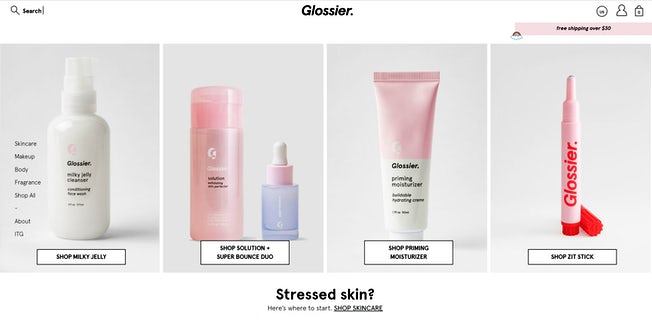 7ff3b0075 Three reasons to admire Glossier  The best online beauty brand you ve never  heard of