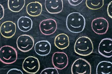 smile happy social