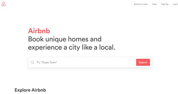 airbnb search