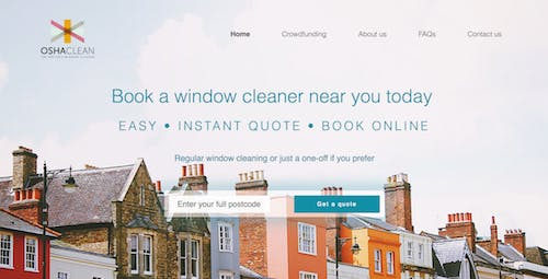 Start Me Up! Osha Clean, the 'Uber for window cleaning' – Econsultancy