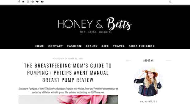 mummy blogger avent breast pump