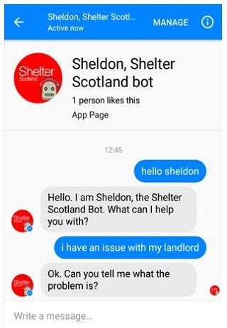 Five examples of charity chatbots – Econsultancy