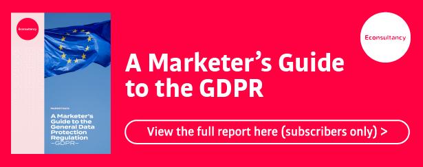 gdpr report banner