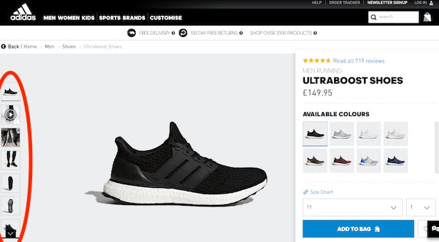 4b330b9e7a38f9 Why Nike s refreshed product pages improve CX (  beat Adidas ...