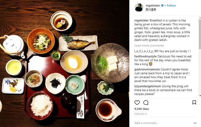 Celebrity chefs and their Instagram strategies – More than