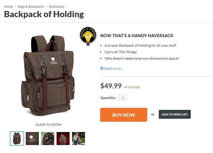 10 brands with hilariously funny product page copy – Econsultancy