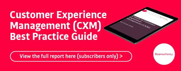 customer experience management best practice guide (subscriber only)