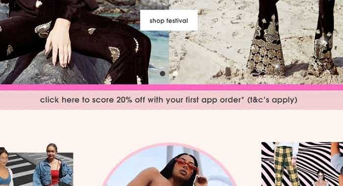 missguided app incentive