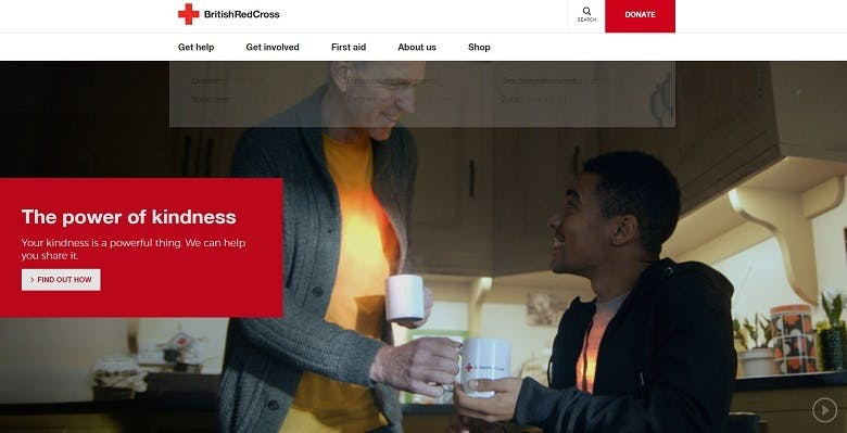 How the British Red Cross revamped its website, from 4,000