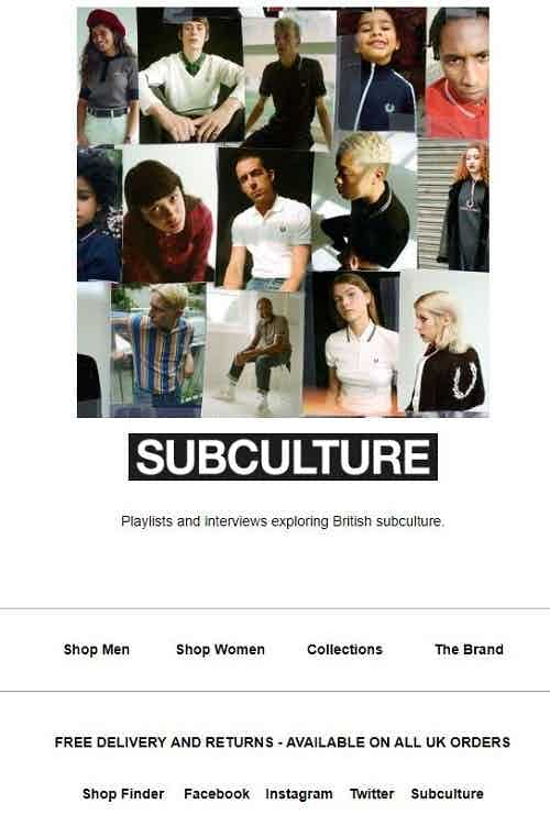 fred perry subculture