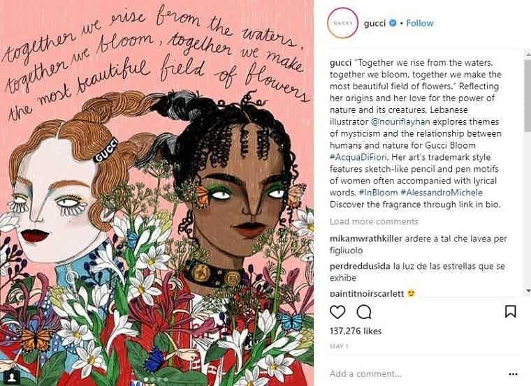 Gucci Instagram