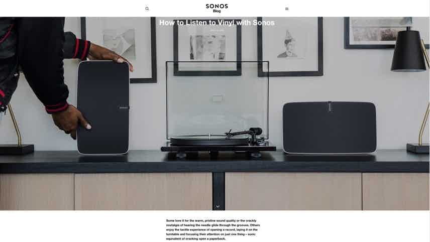 sonos with vinyl