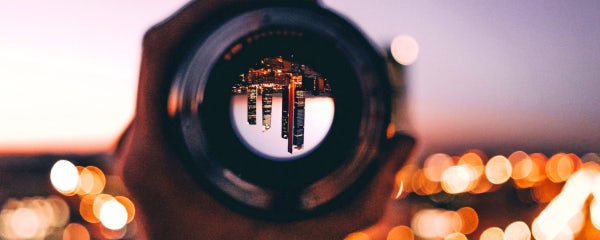 Somo-agency-skyline-through-lens-at-dusk
