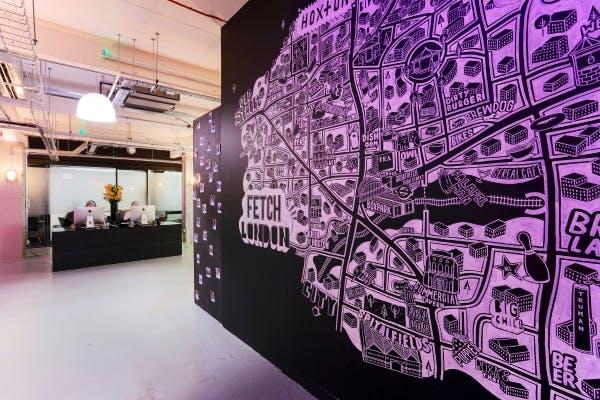 Fetch-agency-office-wall
