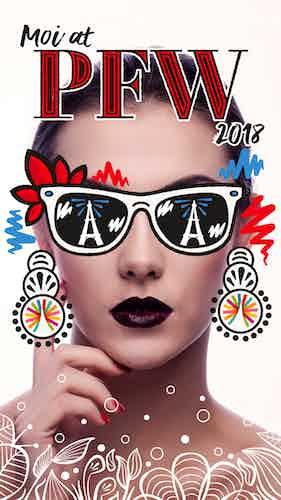 IRM Paris Snapchat campaign