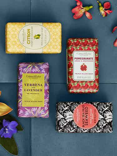 crabtree and evelyn three soaps