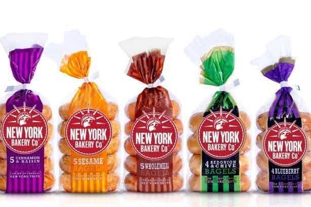 new york bakery company packs of bagels