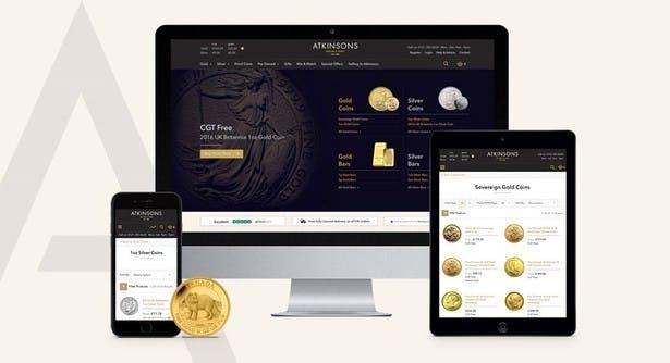 atkinsons website on desktop tablet mobile