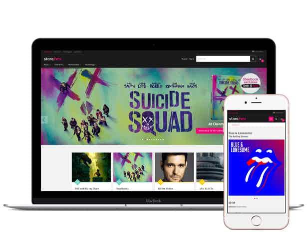 hmv online store suicide squad laptop mobile