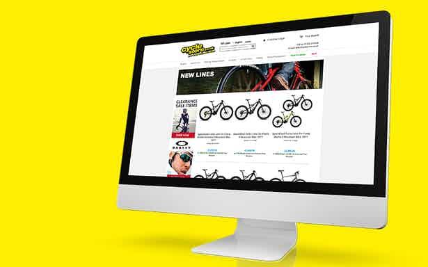 cyclestore online store desktop