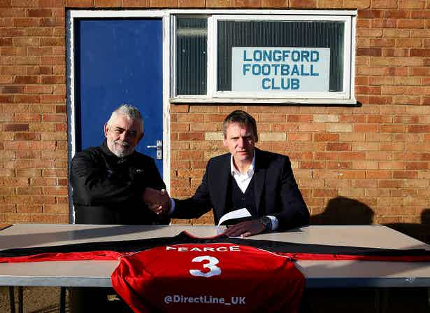 Stuart Pearce Comes Out Of Retirement To Play For Non-League Longford AFC