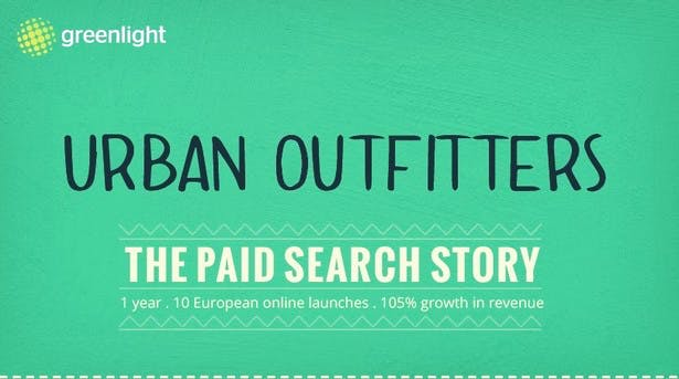 urban outfitters paid search story