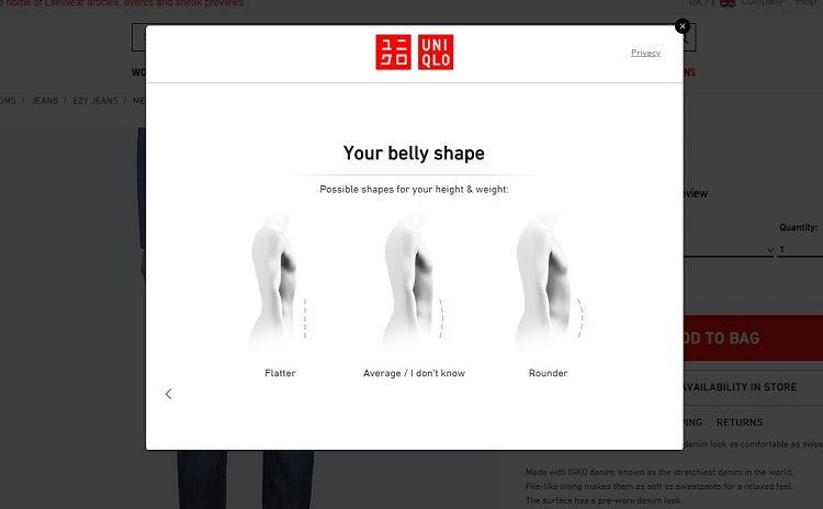 belly shape