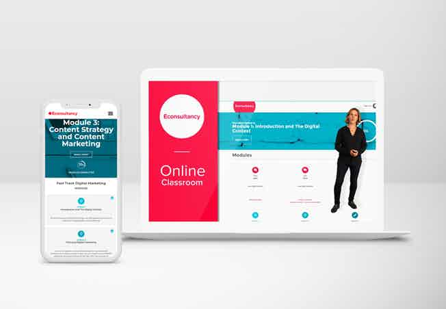 Econsultancy Fast Track to Digital Marketing online course