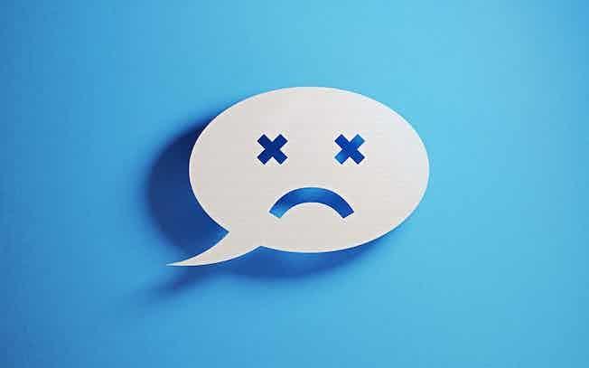 negative social