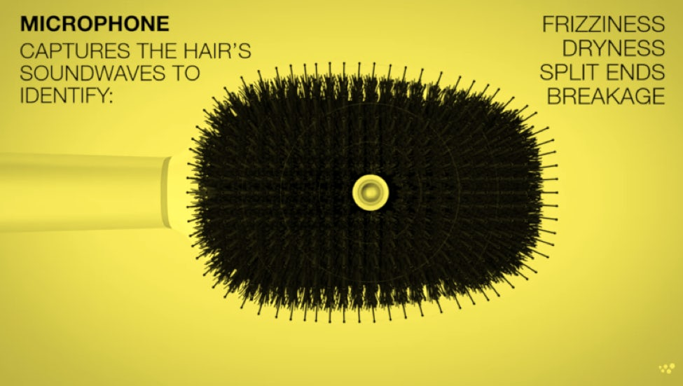 L'oreal's connected hairbrush