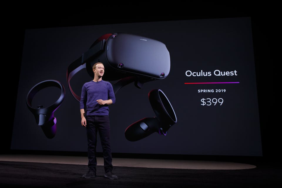 mark zuckerberg oculus quest