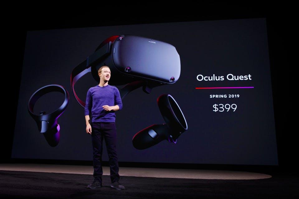 mark zuckerberg oculus quest