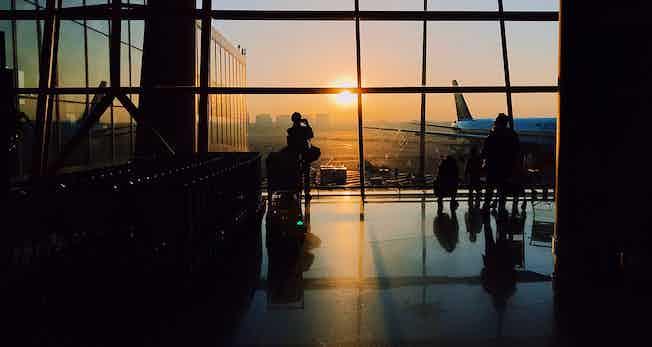 airport-lobby-sunset