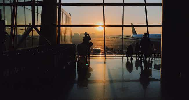 airport-lobby-sunset