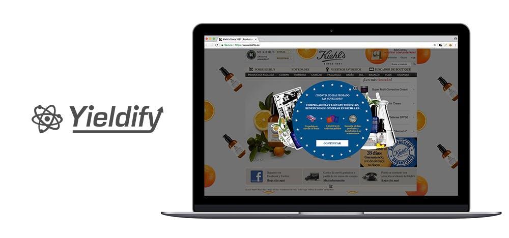 YIELDIFY_Kiehls_ecommerce_site