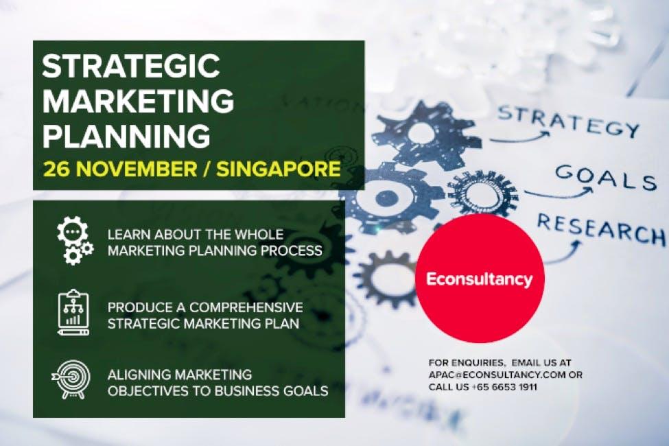 strategic marketing planning training ad