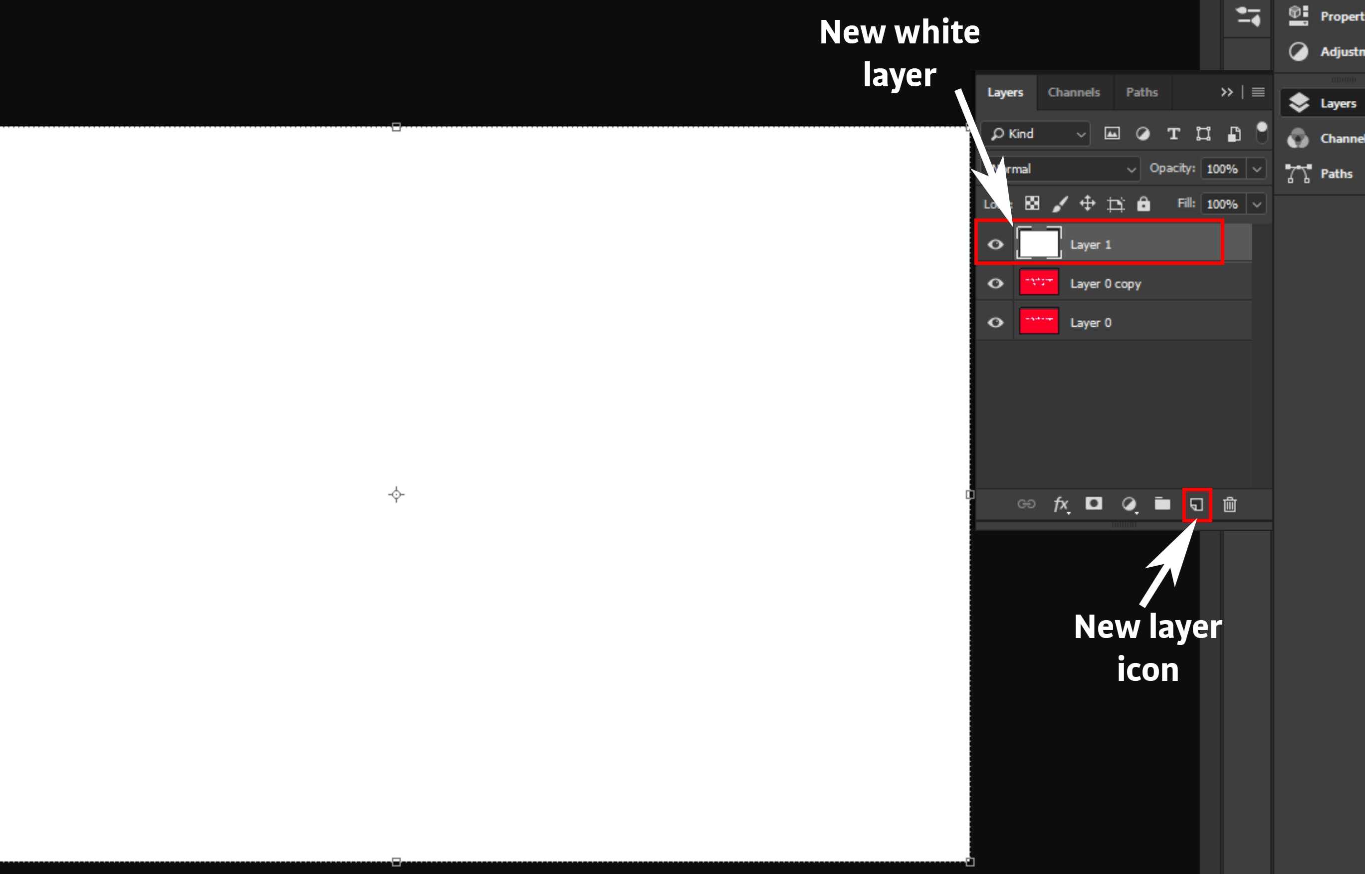 how to create guides on photoshop
