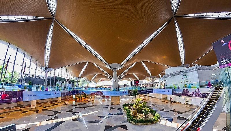 Interior of Kuala Lumpur international airport