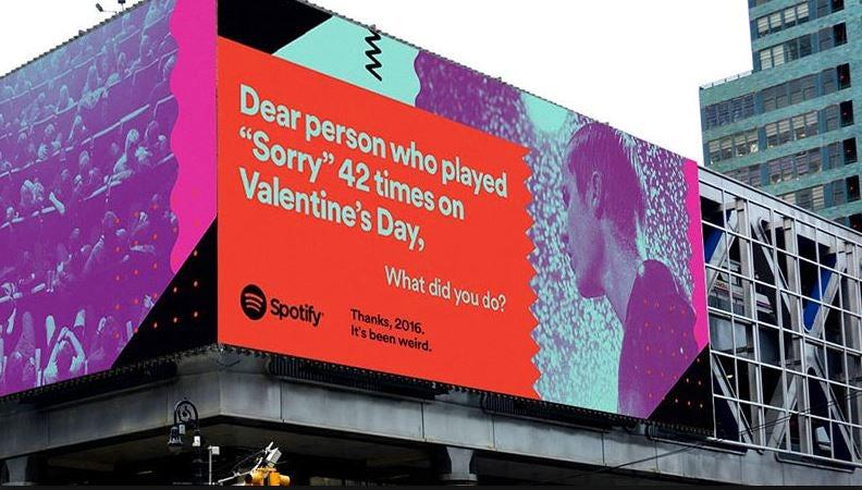 Spotify thanks 2016