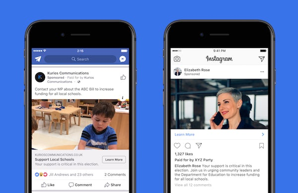 advocacy ads facebook