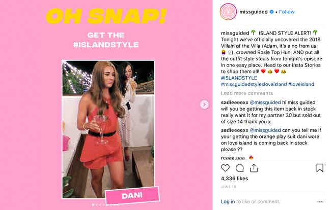 Missguided social