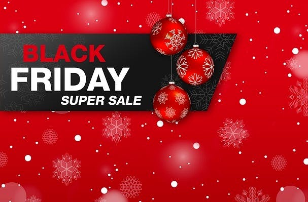 Christmassy Black Friday image