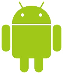 Android logo in green